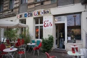 Kauf Dich Glücklich is a nice café in Berlin