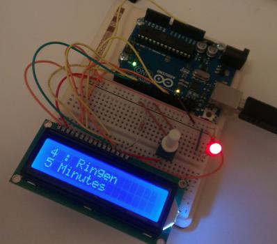 Sanntid hjemme: Følg Ruter hjemmefra med Arduino og Python