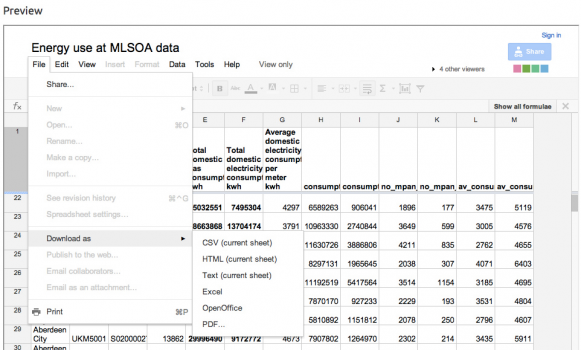 Work programmatically with Google Spreadsheets Part 2