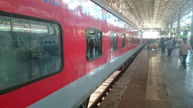 Bestille togreise i India